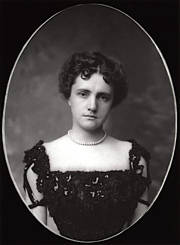 A portrait of Harriett Pullman Carolan who, along with her husband Francis, purchased Le Petite Trianon and the surrounding land in 1909. Ms. Carolan was the daughter of George Pullman, creator of the popular Pullman train cars.