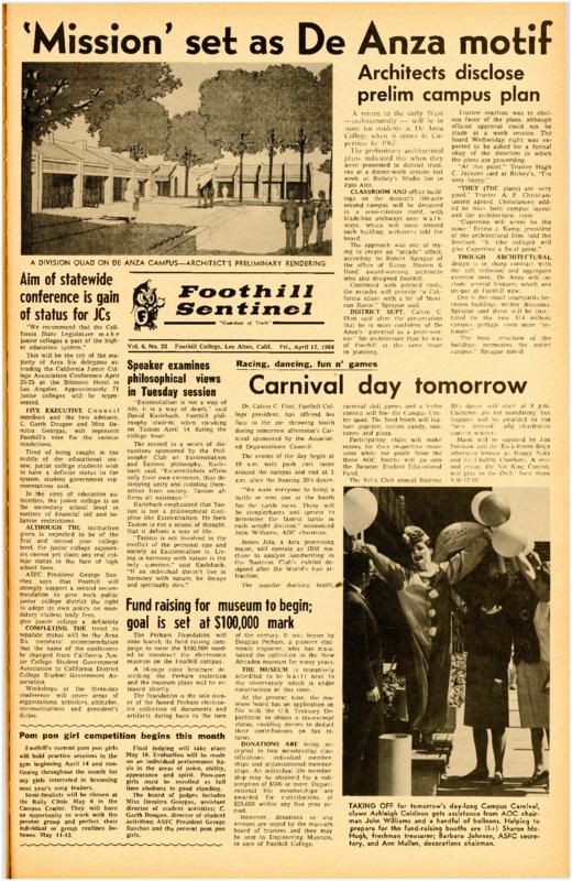 Foothill Sentinel April 17 1964