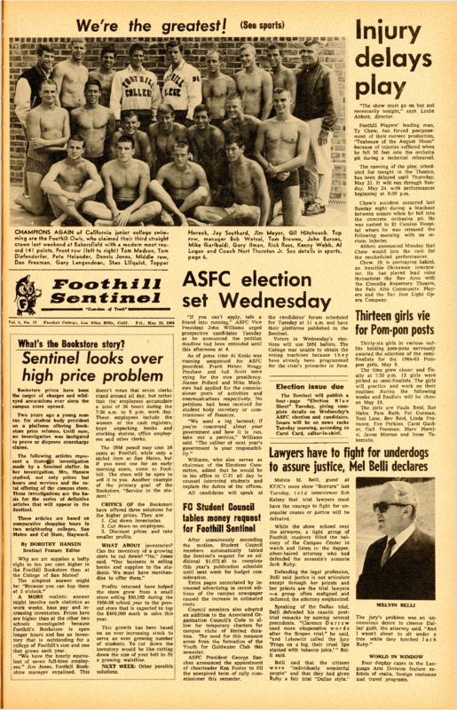 Foothill Sentinel May 15 1964