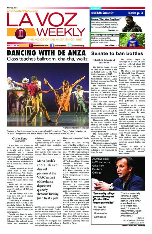 De Anza La Voz May 26 2015
