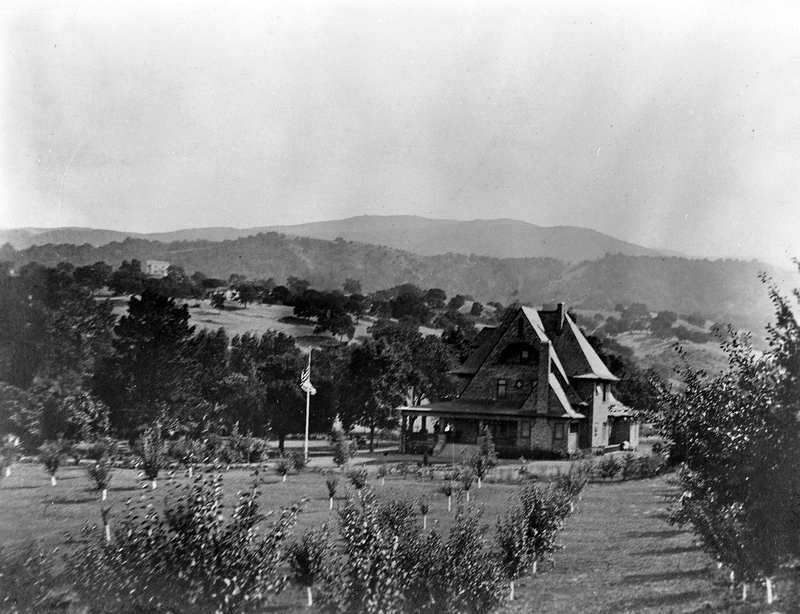 A view of the Griffin House during the early part of the 1900s; exact date unknown.