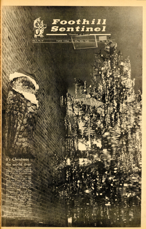 Foothill Sentinel December 18 1964