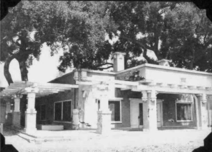 The Griffin family built a second home on their land and the elder Griffin, Willard M., is reputed to have flipped a coin to determine which of the two sons would get which house. This prairie style home was designed by the same architects that designed the first, larger home, Wolfe and McKenzie. This structure, located near the present day tennis courts, was demolished in 1970 to make way for a new Foothill athletics building.