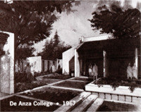 This brochure/pamphlet was prepared for the opening of De Anza College and was distributed in the Fall of 1967.