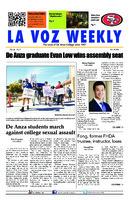 De Anza La Voz November 11 2014