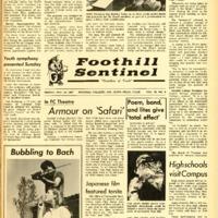 Foothill Sentinel November 10 1967