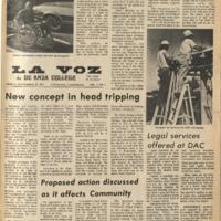 De Anza La Voz September 28 1973