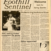 Foothill Sentinel April 12 1985