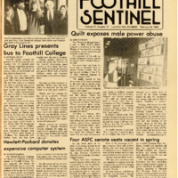 Foothill Sentinel February 22 1985