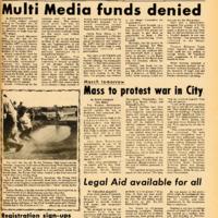 Foothill Sentinel November 5 1971