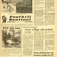 Foothill Sentinel April 19