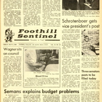 Foothill Sentinel May 9 1969