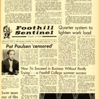 Foothill Sentinel September 25 1968