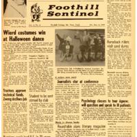 Foothill Sentinel November 06 1959