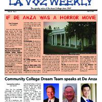 De Anza La Voz October 27 2014