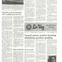 De Anza La Voz December 5 1969