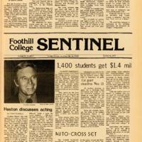 Foothill Sentinel October 28 1977