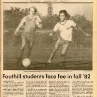 Foothill Sentinel October 23 1981