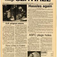 Foothill Sentinel April 16 1976