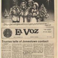 De Anza La Voz December 8 1978