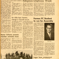 Foothill Sentinel March 25 1966