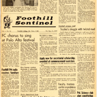 Foothill Sentinel May 22 1959