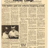 Foothill Sentinel April 20 1979