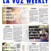 De Anza La Voz February 10 2014