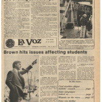 De Anza La Voz November 3 1978