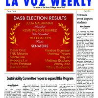 De Anza La Voz May 27 2014