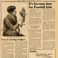 Foothill Sentinel April 1 1984