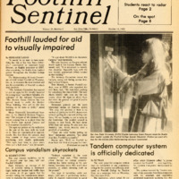 Foothill Sentinel October 14 1983