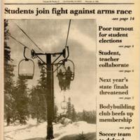 Foothill Sentinel November 4 1981