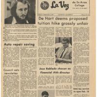De Anza La Voz February 9 1973