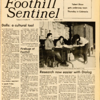 Foothill Sentinel March 15 1985