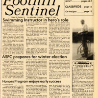 Foothill Sentinel January 27 1984