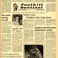 Foothill Sentinel December 6 1968