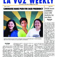 De Anza La Voz May 12 2014