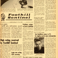 Foothill Sentinel October 9 1959