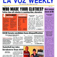 De Anza La Voz June 3 2013