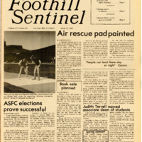 Foothill Sentinel March 22 1985