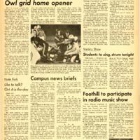 Foothill Sentinel September 30 1966