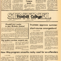 Foothill Sentinel May 9 1980