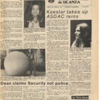 De Anza La Voz October 24 1975