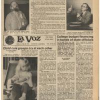 De Anza La Voz April 20 1979