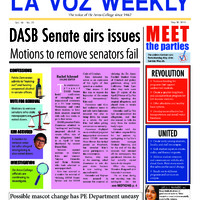 De Anza La Voz May 20 2013