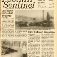 Foothill Sentinel February 10 1984