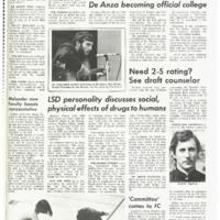 De Anza La Voz April 25 1969