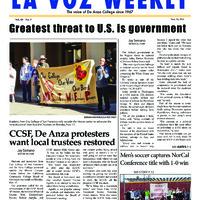 De Anza La Voz November 24 2014