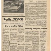De Anza La Voz April 12 1974